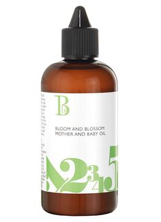 Bloom and Blossom Mother and Baby Oil: A luxurious natural blend of essential oils perfect during pregnancy, for mother and baby massage or simply add to the bath for gentle relaxation.  £16.00