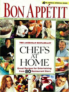 Bon Appetit, Chefs at Home Special Issue, September 1997 Volume 42 Number 9