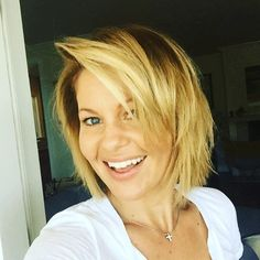Candace Cameron Bure Says Goodbye to Summer With Brand-New Hairstyle: Short Hair Don't Care | E! Online Mobile