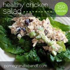 chicken salad using Greek yogurt instead of mayonnaise