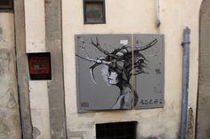Street art in Florence. #Streetart #Florence www.madeoftuscany.it