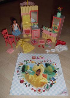 Lego Vintage Scala Girls Pink Dolls House Bathroom 3242 Set 1997 Rare | 14.99+3.3