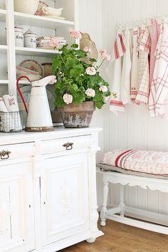 VIBEKE DESIGN: Mere...sommer i rødt & hvitt