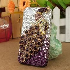 3D Bling Crystal iPhone Case for AT Verizon Sprint Apple iPhone 4/4S Purple Peacock by Nova Case, http://www.amazon.com/dp/B00702SX9Q/ref=cm_sw_r_pi_dp_OP2Yqb108N5HE