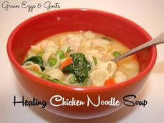 Healing Chicken Noodle Soup Recipe