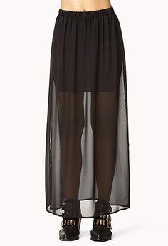 #Forever21                #Skirt                    #Side #Slit #Chiffon #Maxi #Skirt #FOREVER #2000074714                        Side Slit Chiffon Maxi Skirt | FOREVER 21 - 2000074714                                                  http://www.seapai.com/product.aspx?PID=56435