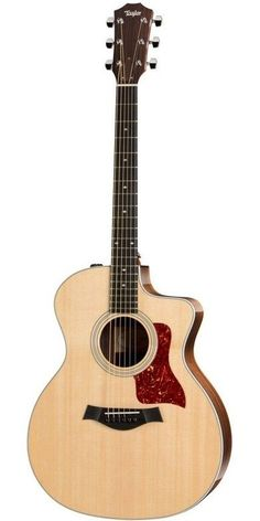 Taylor 214ce DLX Deluxe Grand Auditorium Acoustic-Electric Guitar