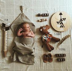 Sophie_vine baby announcement of little Van #cutebirthannouncement