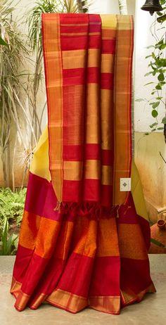 Kanchivaram Kora Silk L03261 | Lakshmi