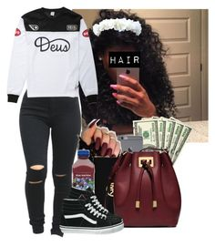 Muse ||  PARTYNEXTDOOR by heavensincere on Polyvore featuring polyvore fashion style Deus ex Machina Vans Michael Kors FRUIT clothing