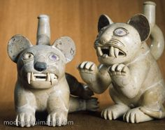 stock photography images | Picture 341 « Moche pots - animals | Nathan Benn Photographs