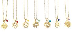 chakra ketting | InTu jewelry design with meaning