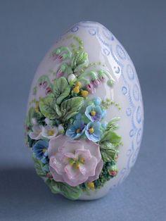 Яйцо тоже должно быть красивым