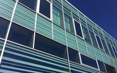 DTU Campus Service | Glassolutions - Scanglas har bidraget til Danmarks Tekniske Universitets flotte facade på deres Campus Service bygning.  Til glasarbejdet er der benyttet trelags SGG Climatop CoolLite® Xtreme med PictureIt, Stadip XN og SGG Climatop CoolLite® Xtreme.
