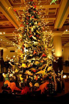 I definitely need a dinosaur themed Christmas tree!
