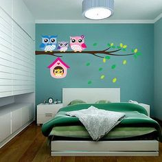 I LOVE these Owl Vinyl Wall Stickers!  They are so stinkin cute!