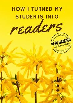 How I turned my students into readers - make reading fun so that your students don't just PRETEND to read!