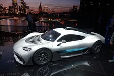 It's the car everyone's been dying to see, and now it's finally here. Behold the Mercedes-AMG Project One, a road car equipped with the championship-winning powertrain of the current-era Mercedes AMG Petronas Formula 1 racecars. Unveiled Monday ahead of a world debut during tomorrow's opening day of the 2017 Frankfurt auto show, the…