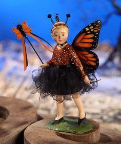 Bethany Lowe Halloween Monarch Butterfly Girl Figurine TD2345 #BethanyLowe