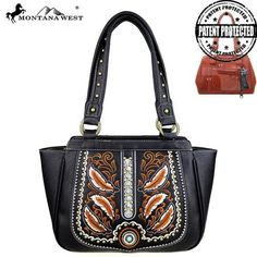 Montana West Feathers Concealed Handgun Tote