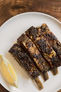 This recipe takes time, but can be made up to two days in advance. Give the ribs their final sear just before serving. (Photo: Sasha Maslov for The New York Times)