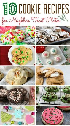 10 Cookie Recipes for Holiday Neighbor Treat Plates