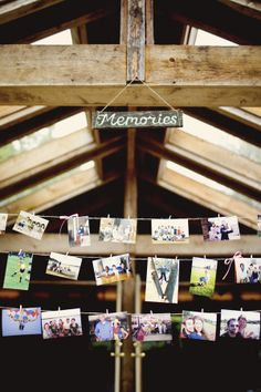 a good idea to show your love story at wedding