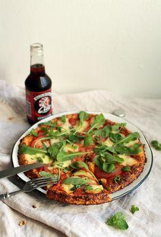 {Cauliflower aka Pizza} Kukkakaalipitsa aka Kukkakaalipizza - Kiitos hyvää | Lily.fi