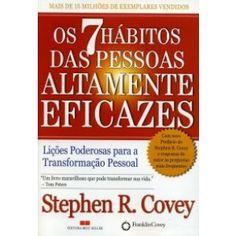 Stephen R. Covey acredita que vencer ou fracassar é resultado de sete hábitos. São eles que distinguem as pessoas felizes, saudáveis e bem-sucedidas das fracassadas ou daquelas que sacrificam o equilíbrio interior e a felicidade para alcançar êxito.