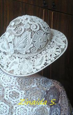 Ирландское кружево АХ... — Похвастушки вязальные))   OK.RU Crochet Summer Hats, Crochet Summer Dresses, Crochet Hats, Russian Crochet, Irish Crochet, Irish Lace, Headbands, Creations, Quilts