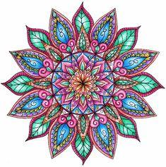 colorful mandala                                                       …