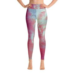 Super soft, stretchy and comfortable yoga leggings. Designed by yoga teacher Massimo Barberi using ethereal colours and soft nuances reminding of tantric Chakras and meditative mandalas. Yoga, Women Pants, Chakras, Trending Outfits, Fitness, Tired, January, Inspiration, Etsy