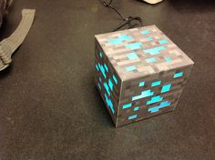 Make Your Own Minecraft Lamp   This Looks Really Intricate... Maybe I Could
