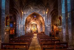 The old church of Venasque, France. This is absolutely stunning. Absolutely Stunning, Provence, Old Things, France, Architecture, City, Image, Arquitetura, Cities