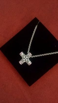 18k White gold,diamond, Carrera y Carrera necklace by MakaGifts on Etsy