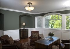 Color is Millstone Gray BM1581 | image by Visbeen Architects of Grand Rapids, Michigan