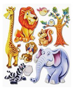lustige dschungel dekoration im kinderzimmer ? 15 schöne beispiele ... - Kinderzimmer Deko Gelb