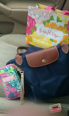 Lilly and Longchamp!