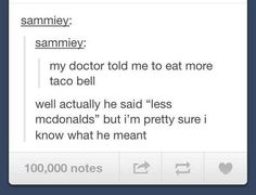 The time they took their doctor's advice. | 32 Times Tumblr Was Too Clever For Its Own Good