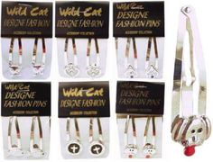Wholesale Jewelry & Accessories - Silver-Tone Snap-Clips