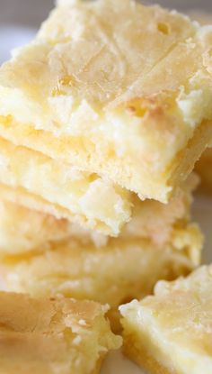 Ooey Gooey Cake Mix Bars