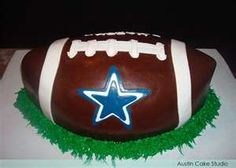 Dallas football cake ideas