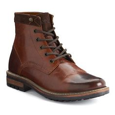 Add a polished look to any outfit with these men's boots from Crevo. Combat Boots, Ankle Boots, Men's Boots, Polished Look, Guys, Toe, Brown, Outfits, Angels