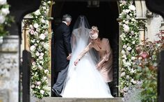 Pippa Middleton's wedding live: Duchess of Cambridge's sister arrives to marry fiancé James Matthews Kate Middleton, Pippa Middleton Wedding Dress, Bride Sister, Sister Wedding, Pippas Wedding, Wedding Gowns, Wedding Attire, English Country Weddings, Wedding Dress Pictures