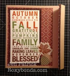 Roxybonds Close To My Heart CTMH consultant : September Stamp of the Month Blog Hop- Poster Tidings