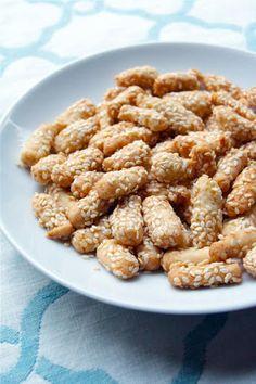 Buttery Sesame Sticks Recipe | Yummly