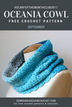 The Oceania Cowl is lightweight, super soft and a pleasure to wear. It is wide enough to easily pull up to cover the top of your head and the back of your neck (snood style) at the same time for those windy weather moments and it is pliable enough to wear around your neck under your chin. The fabric has lovely movement which allows it to be worn comfortably without having a lot of excess material around your neck.
