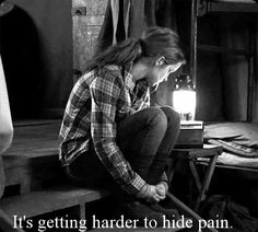 It's getting harder to hide pain #depression