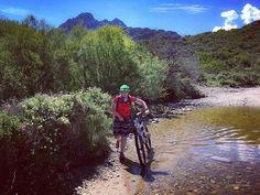 Auf dem Weg zum Traumstrand #salecciabeach #sanktflorent #bike #mtb #wasserunterwegs #trail #pfützenspaß #france #korsika #sanktflorent #awesomepics #cannondalebikes