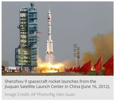 China Aims for the Moon – and Beyond  China's space program, past, present, and future.